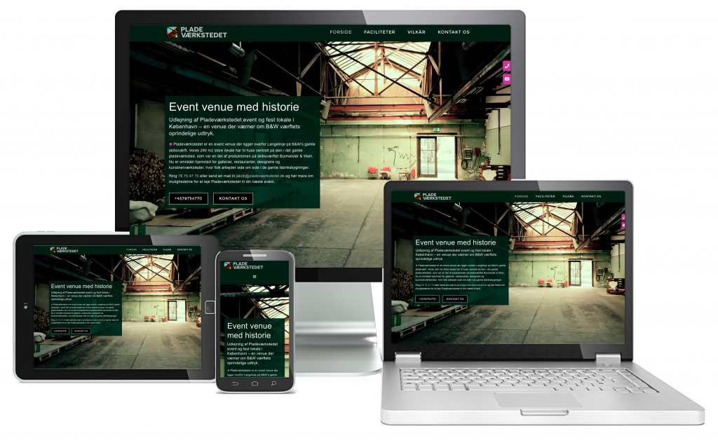 Let our web agency in Manchester get you noticed online with the Waimea Parallax design